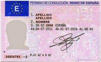 Renovación carnet de conducir
