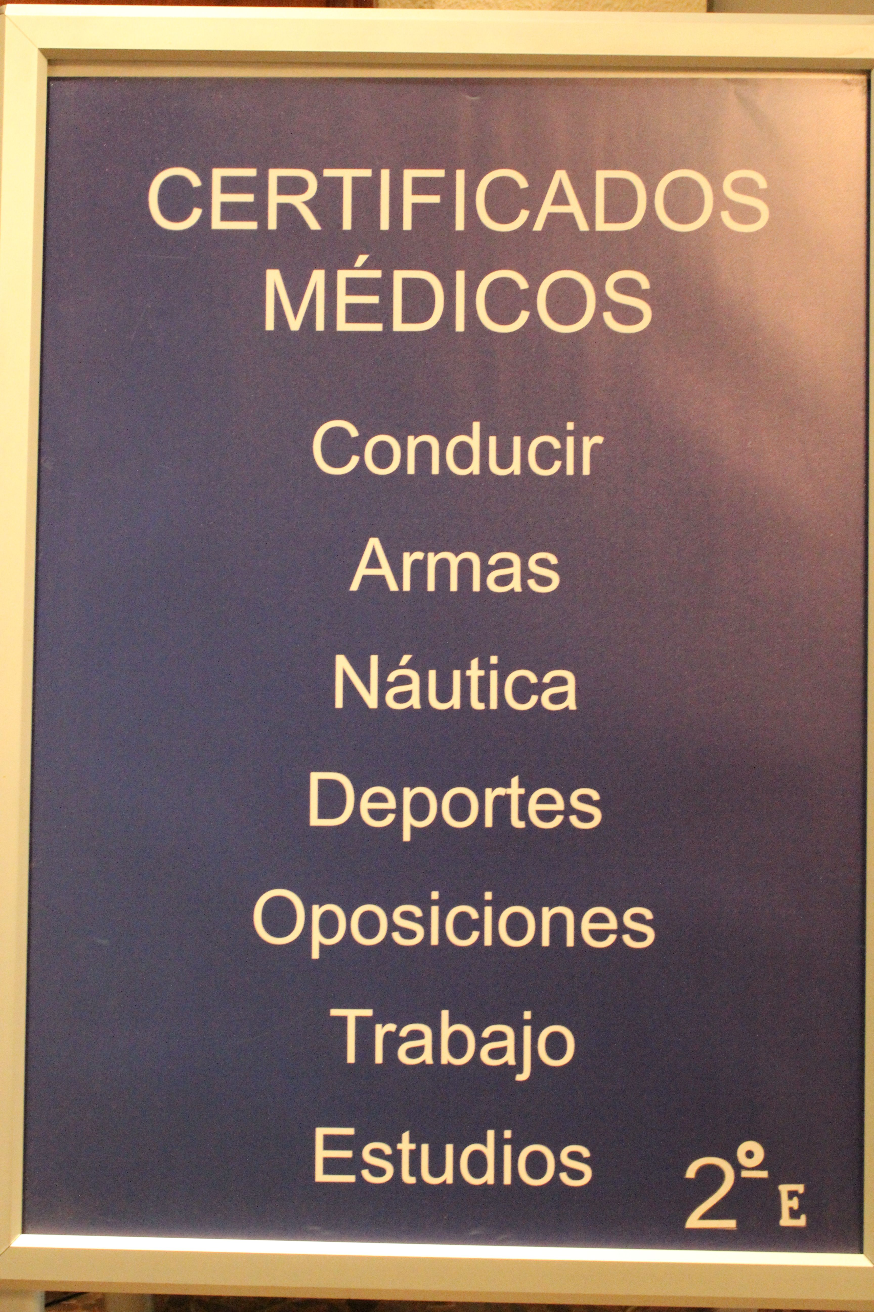 Foto 3 de Reconocimientos y certificados médicos en Madrid   Centro Psicotécnico Arenal