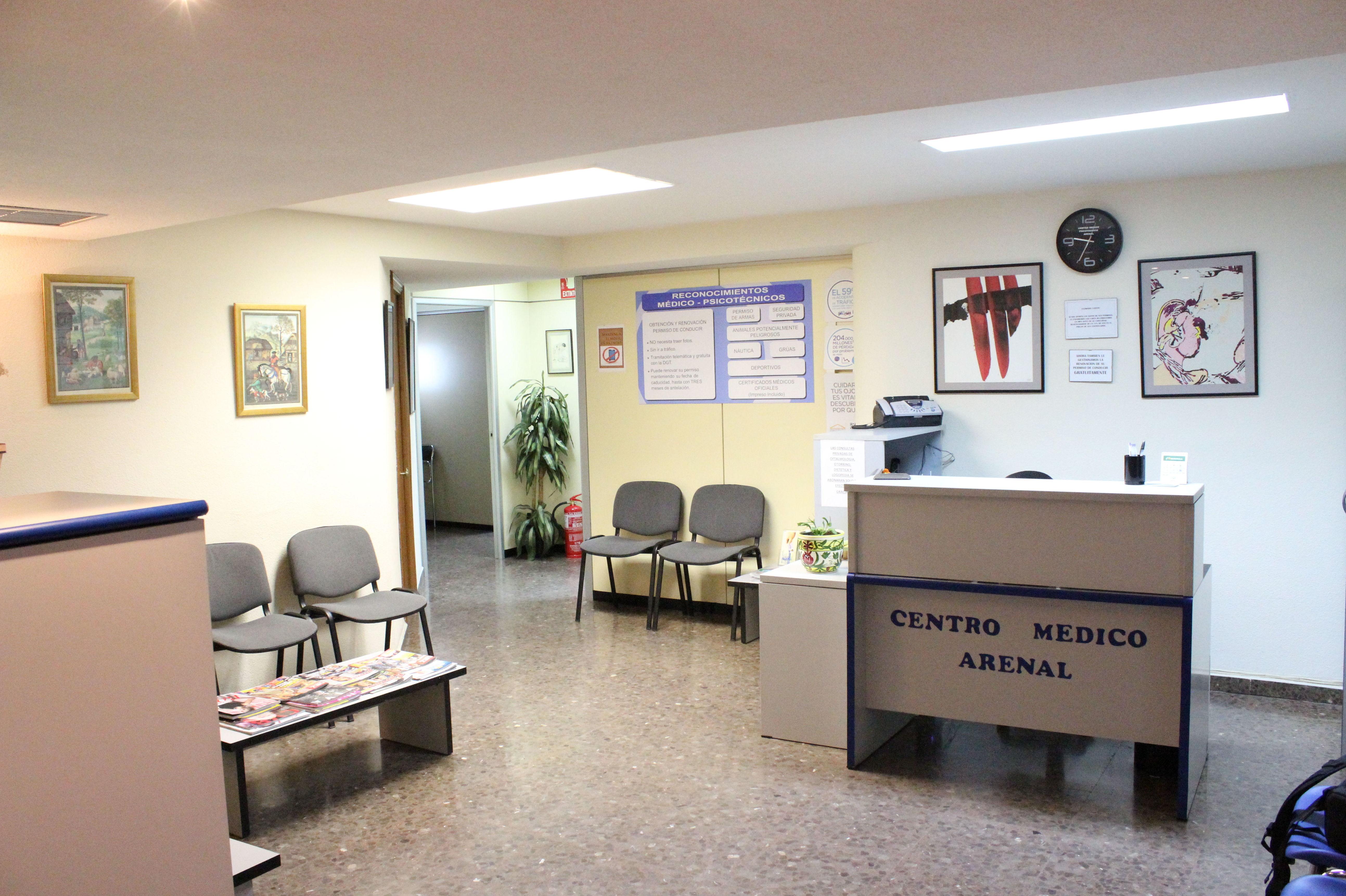 Foto 4 de Reconocimientos y certificados médicos en Madrid | Centro Psicotécnico Arenal