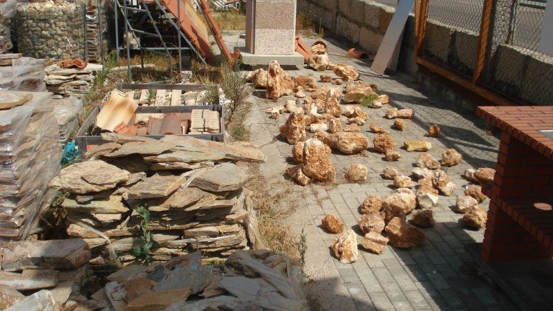 Varios ejemplos Piedra Decorativa  : Catálogo de Luis Franco Medeiros