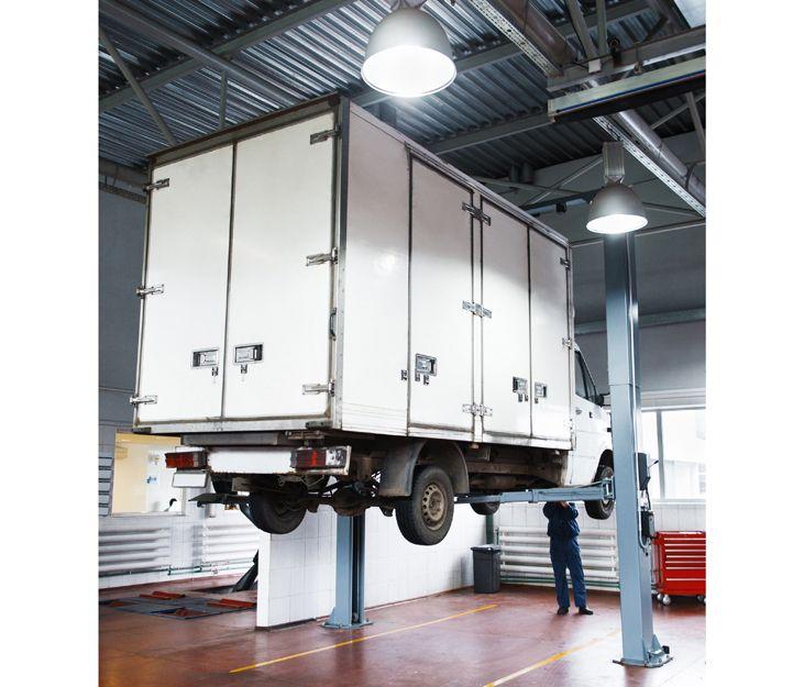 Taller especializado de suspensión de vehículos industriales en Salamanca