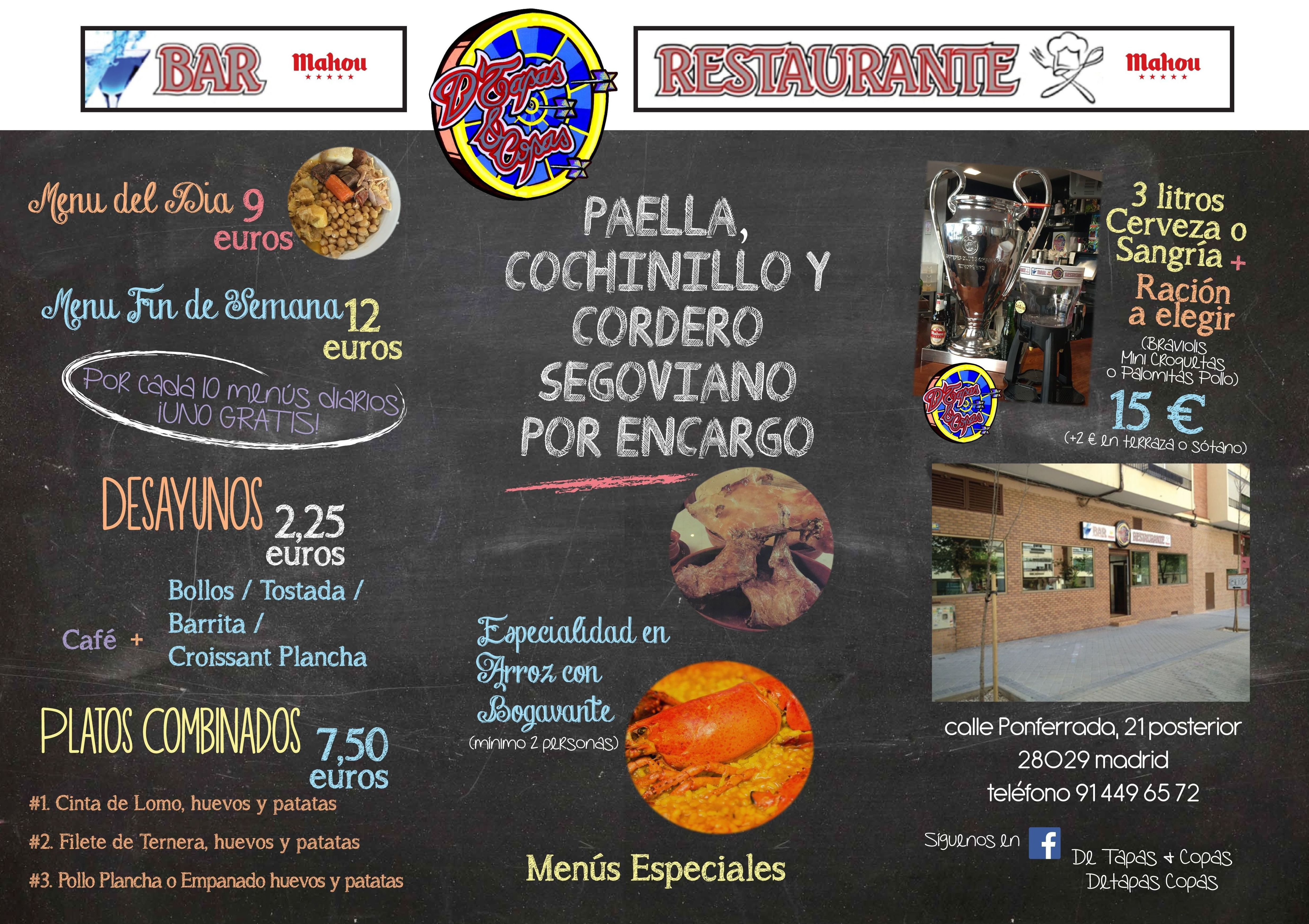 Restaurante D´Tapas & Copas