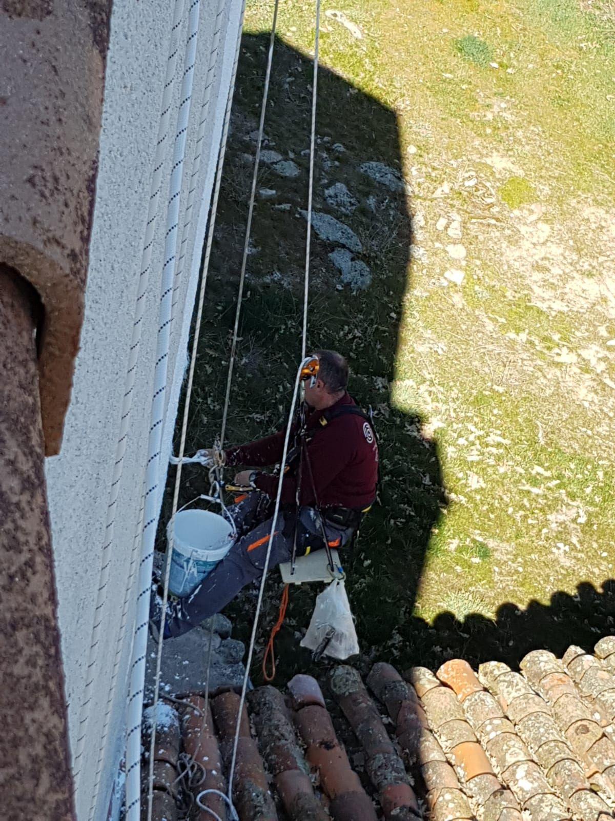 Trabajos verticales Ávila