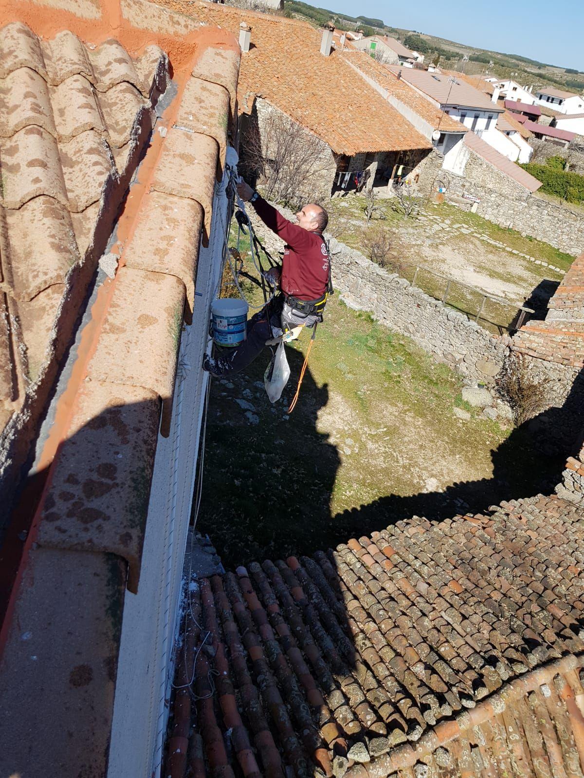 Cambio de canalones Ávila