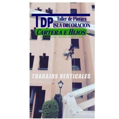 Trabajos verticales: rehabilitación de fachadas