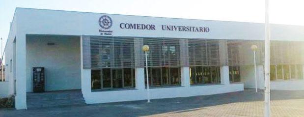Comedor del campus de la Universidad de Huelva