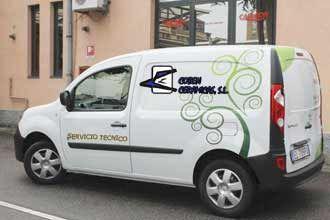 Servicio técnico para calderas y estufas: Productos de Coben Cerámicas