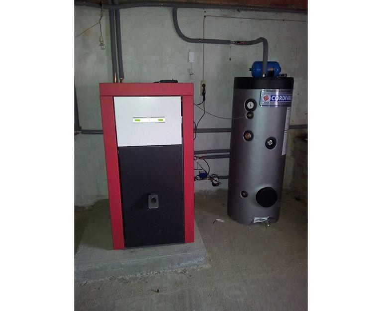 Calefacción con biomasa en Castilla y León
