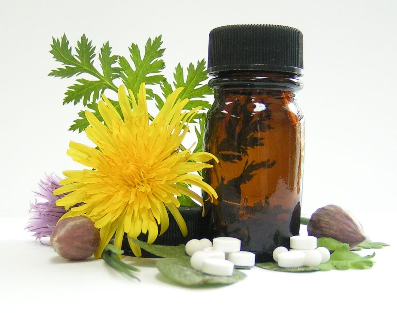 Cosmética farmacéutica (dermofarmacia) Flores de Bach.