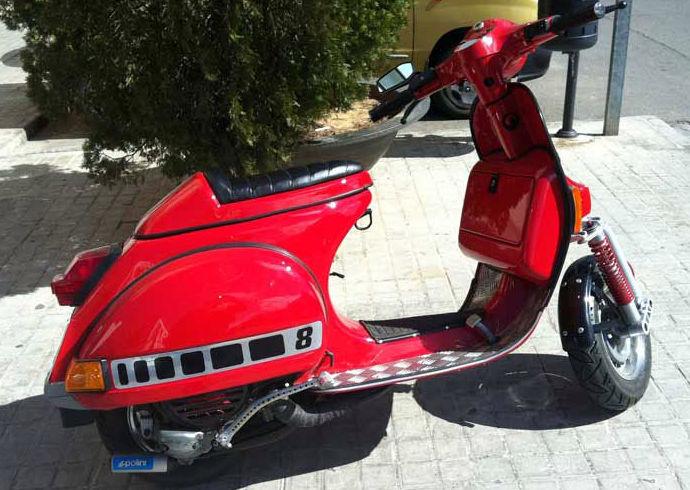 Taller de chapa y pintura de motos en Valencia