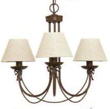 Diversos modelos y colores de lámparas clásicas