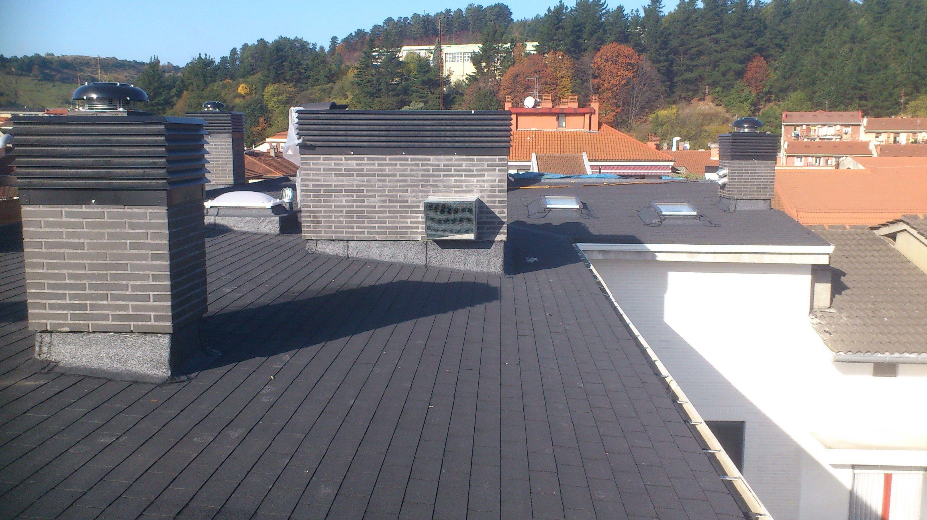 Foto 5 de impermeabilizaci n en galdakao - Impermeabilizacion de tejados ...