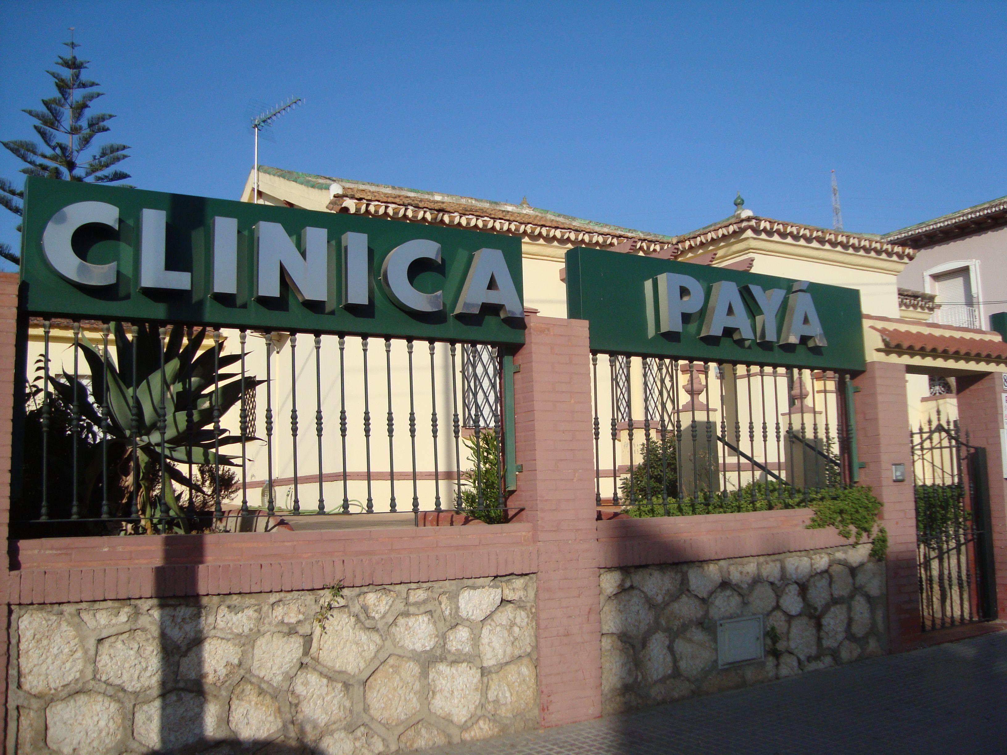 Clínica Payá C/ Lope de Rueda 80 (Puerto de la Torre) Málaga