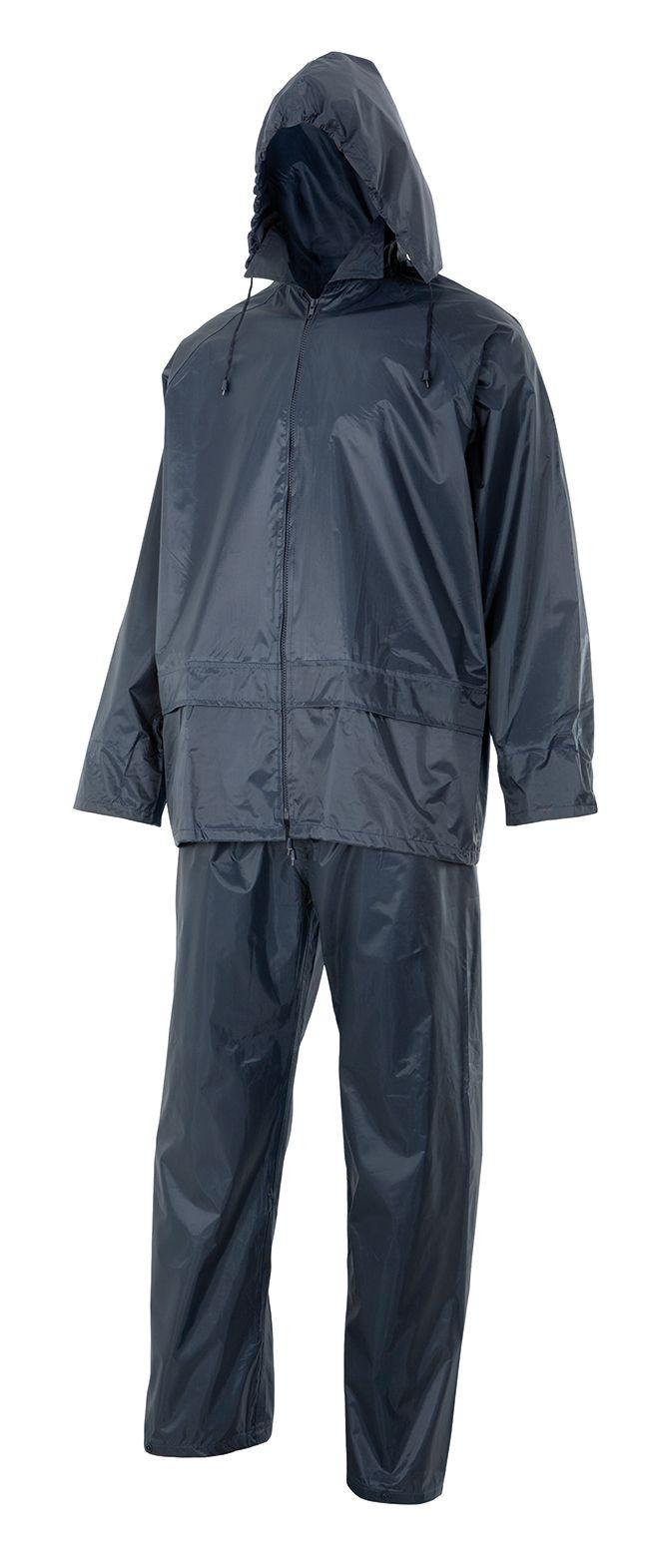 195 Traje de lluvia dos piezas con capucha oculta: Catálogo de Mòn Laboral
