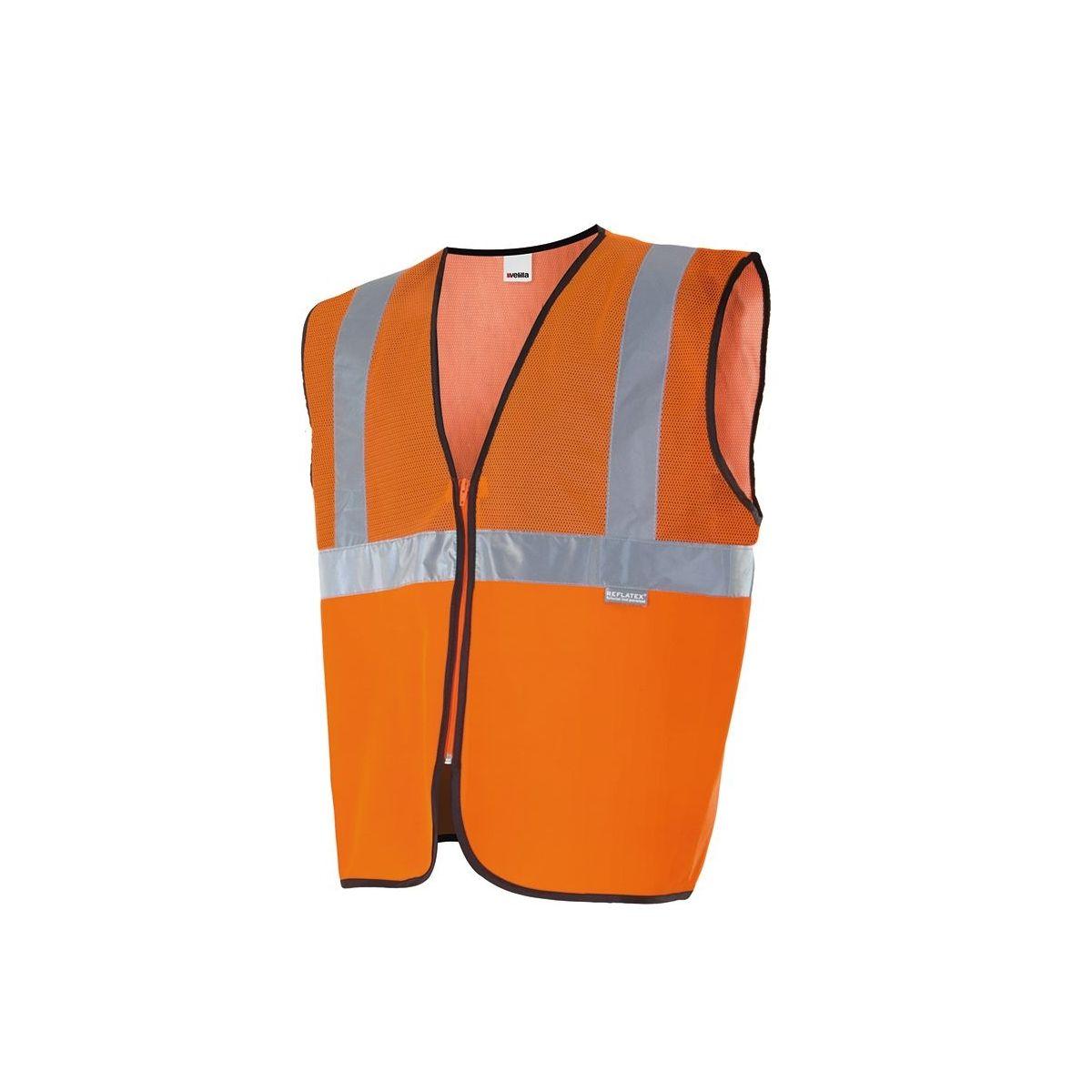 Chaleco profesional con tejido rejilla alta visibilidad (ref: 146)
