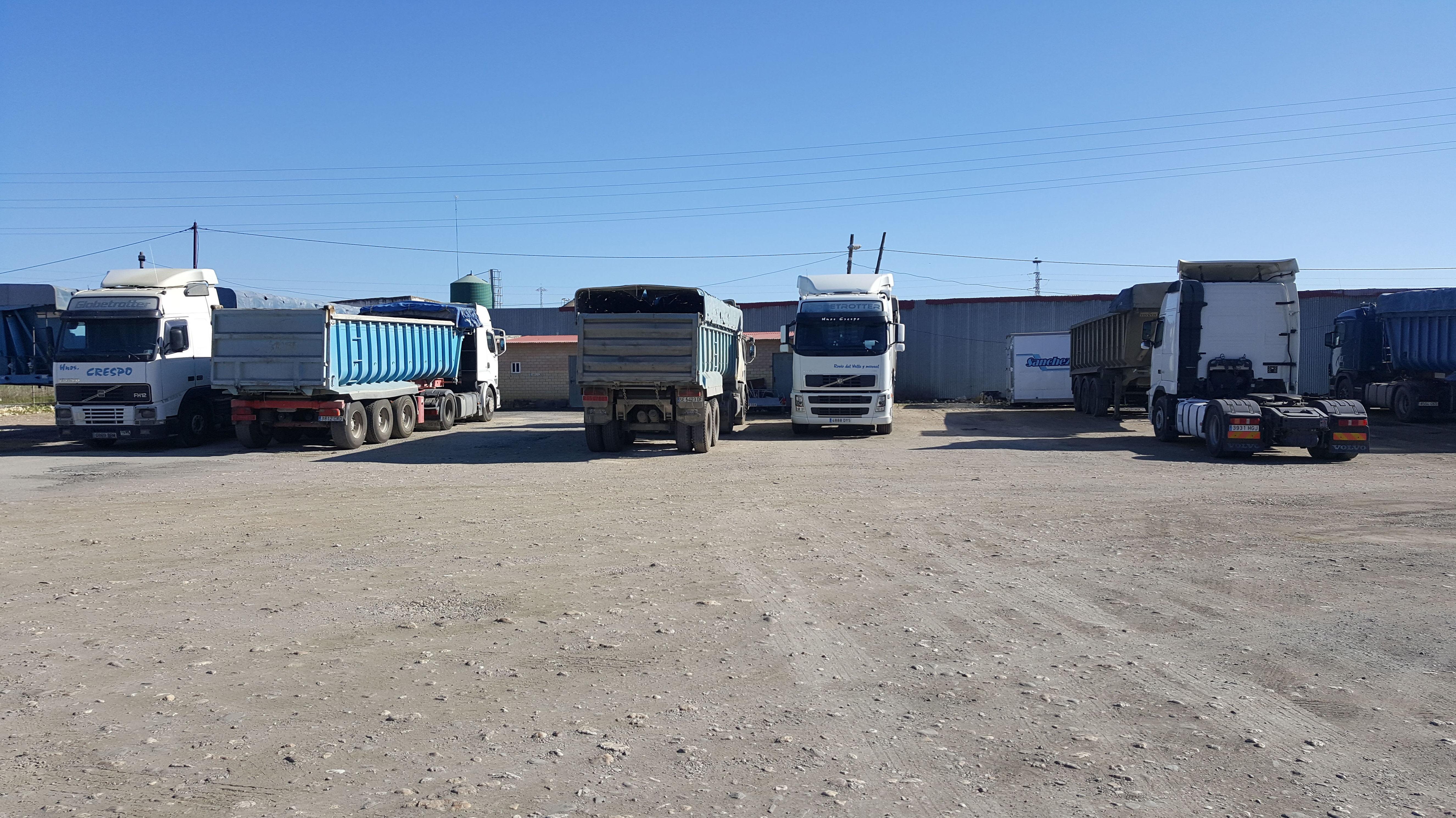 Foto 5 de Transporte de áridos en Niebla | Cooperativa de Transportes Iliplense