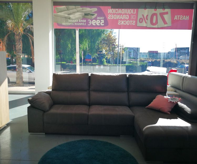 Tienda de sofás en Valencia