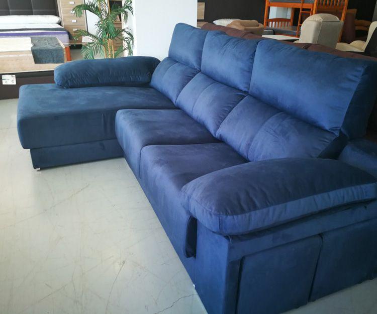 Chaise longue azul en Valencia
