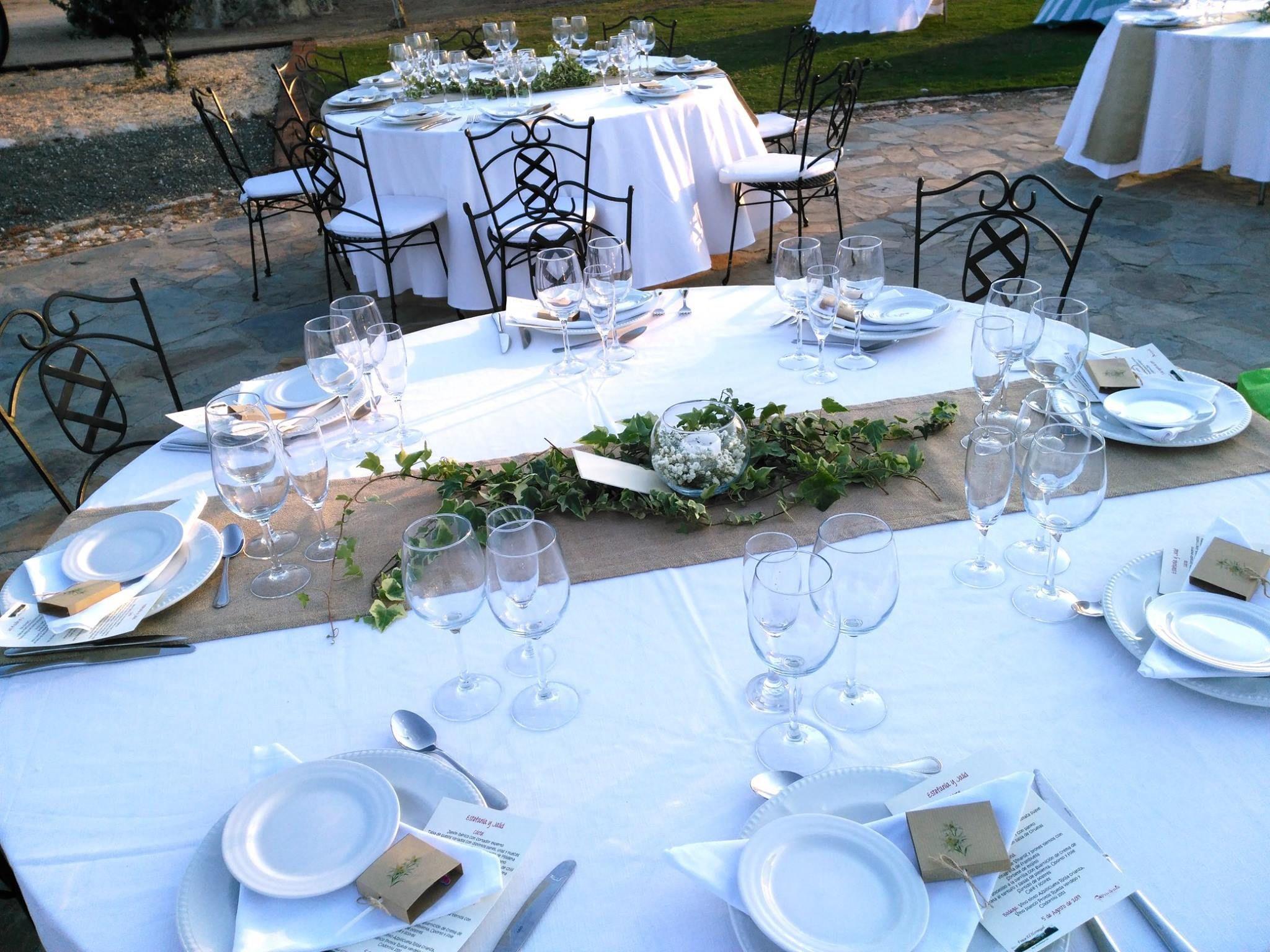 Finca con cocina propia para bodas en Madrid Sierra Norte