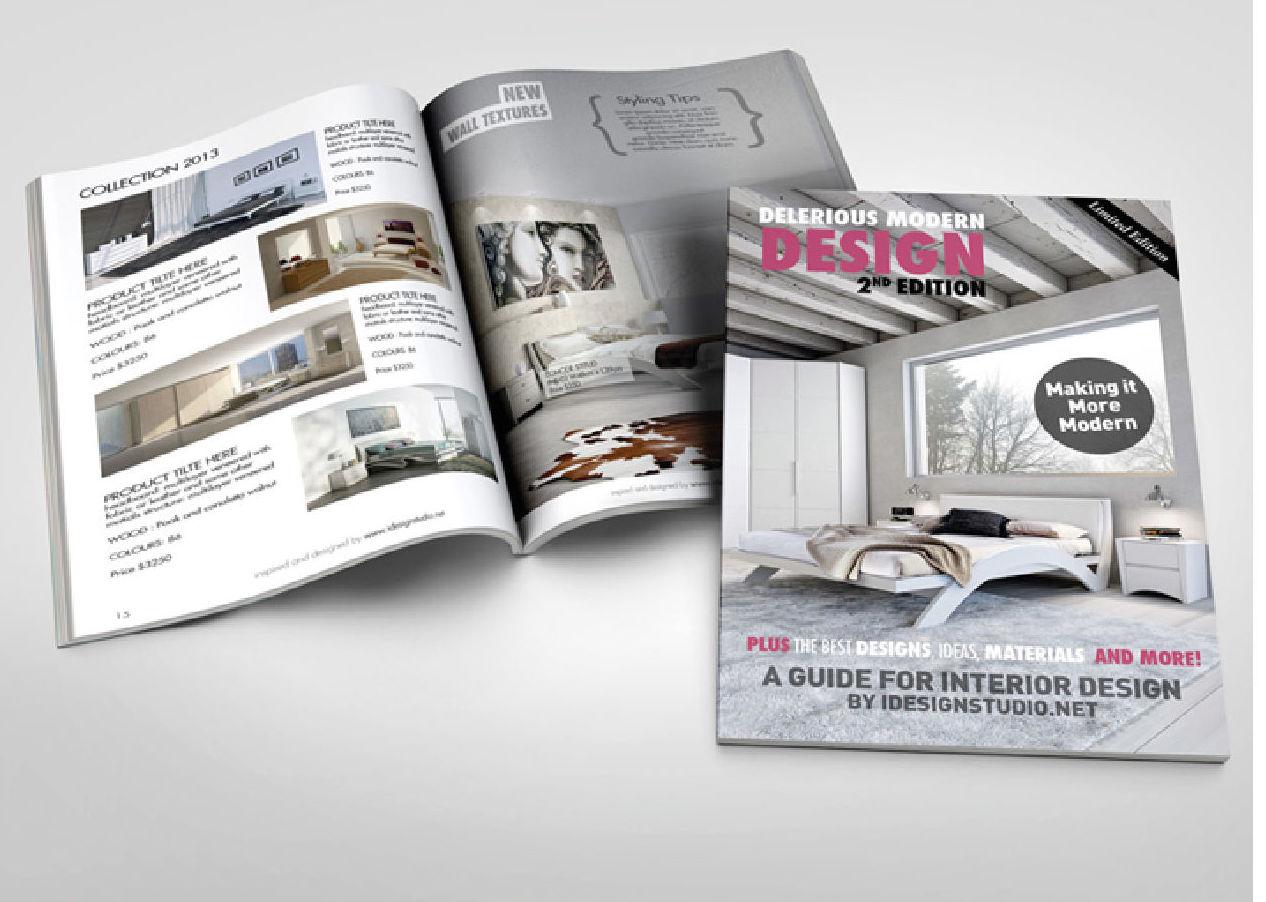 Revistas y catálogos: Productos y servicios de León Grafix