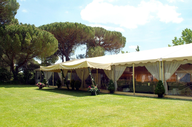 Alquiler de carpas para bodas en Valladolid