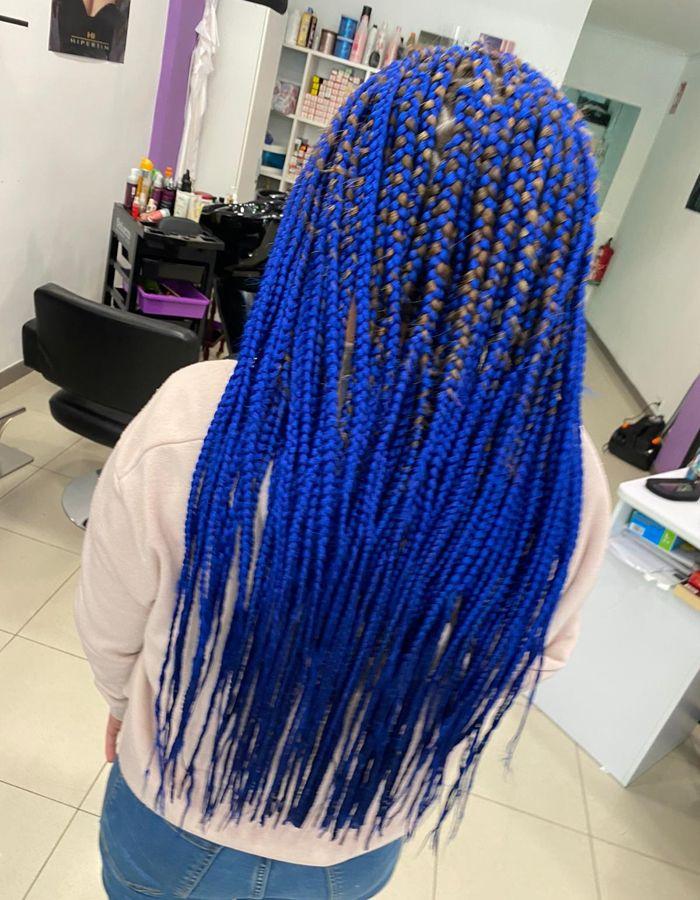 Extensiones de cabello y color en Logroño