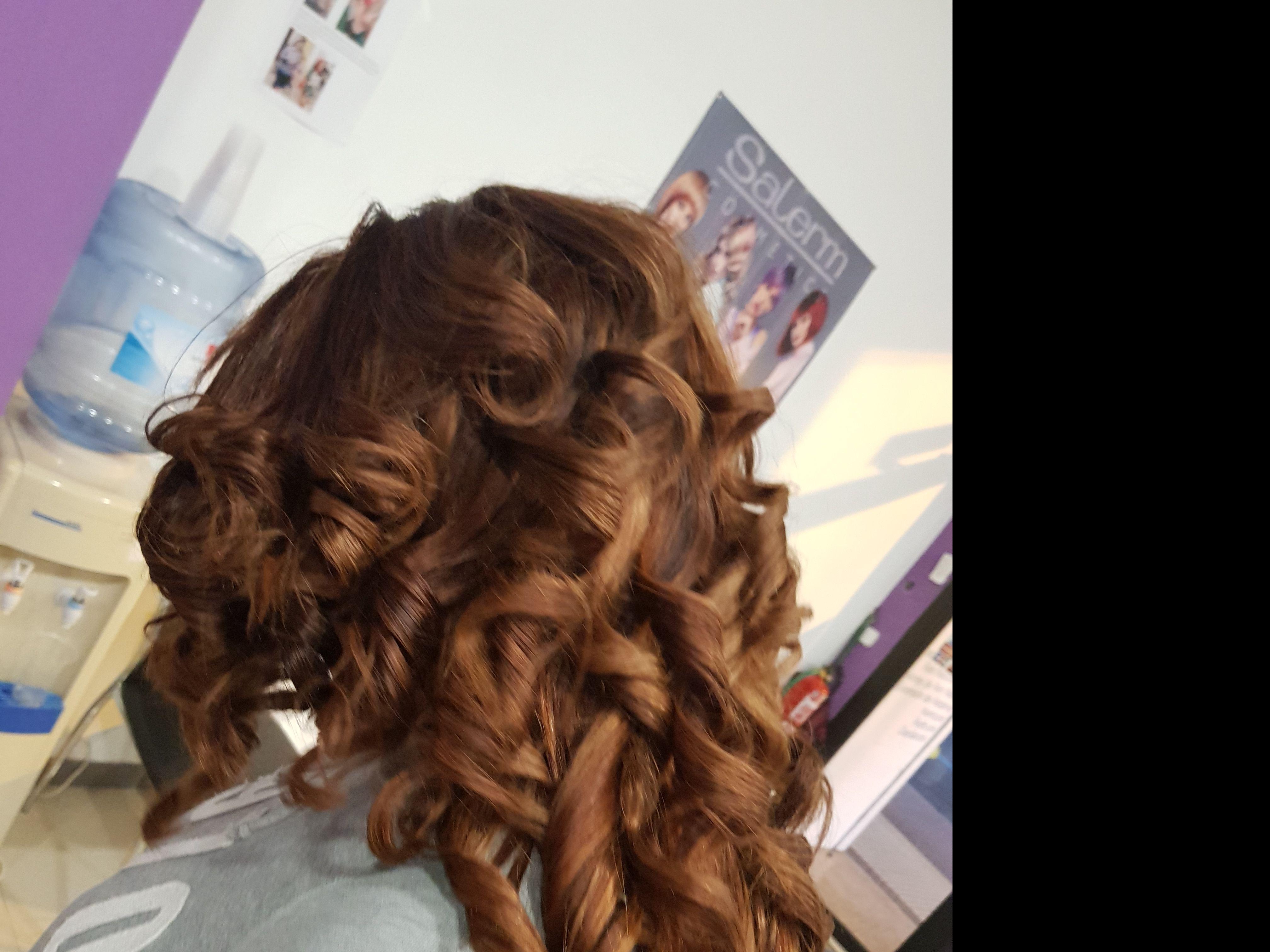 Peinado mujer con ondas Logroño