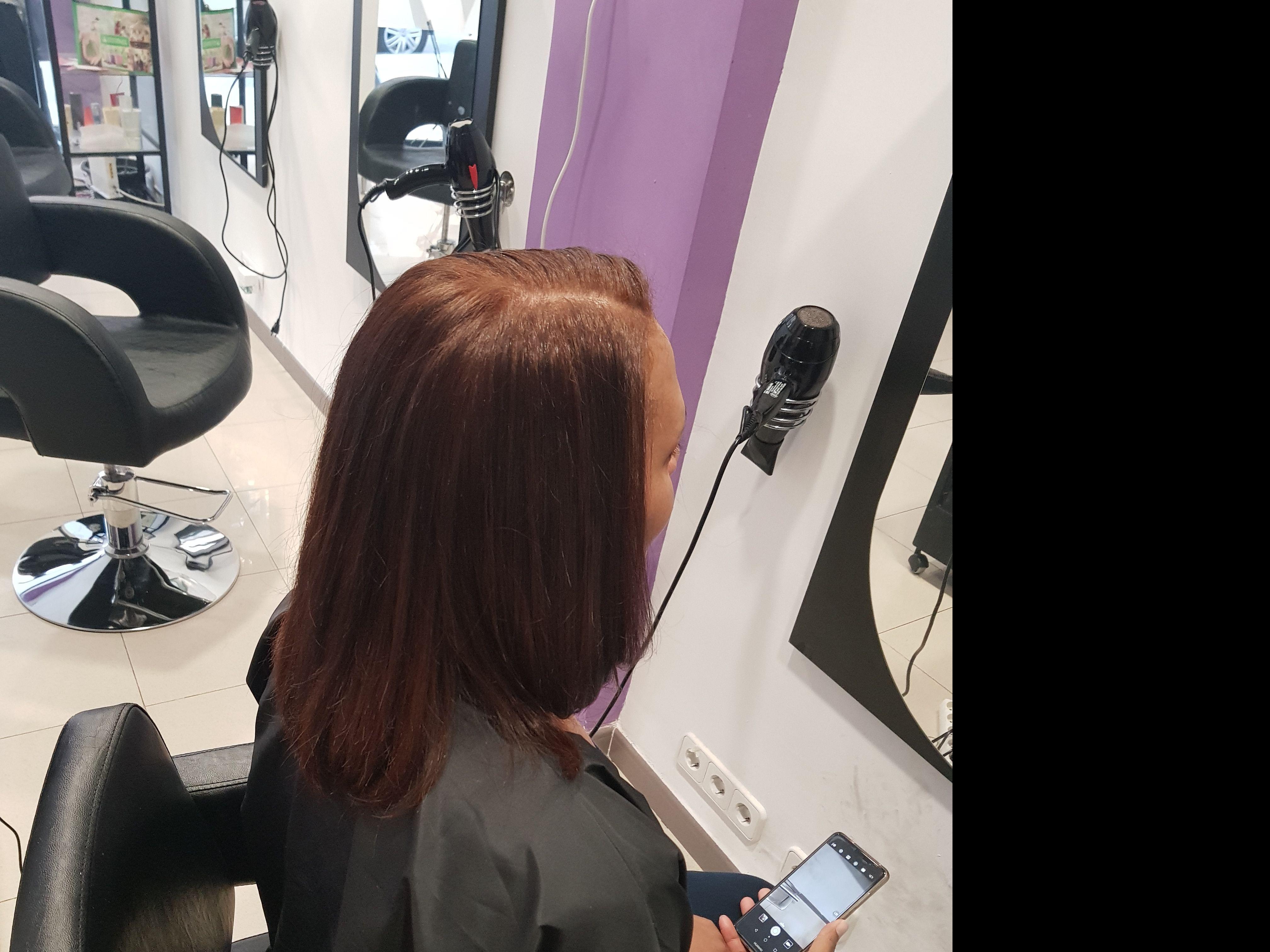 Peinado media melena  Logroño
