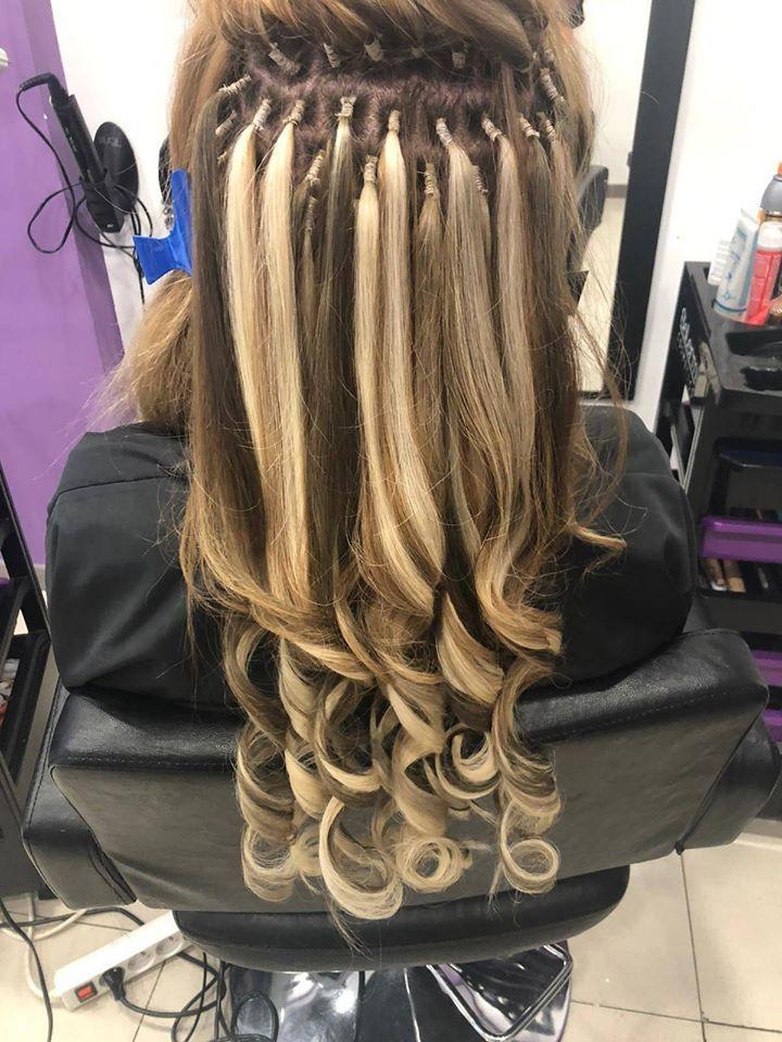 Extensiones y peinado con ondas surferas. Tu mejor estilismo en Shalom Peluquería