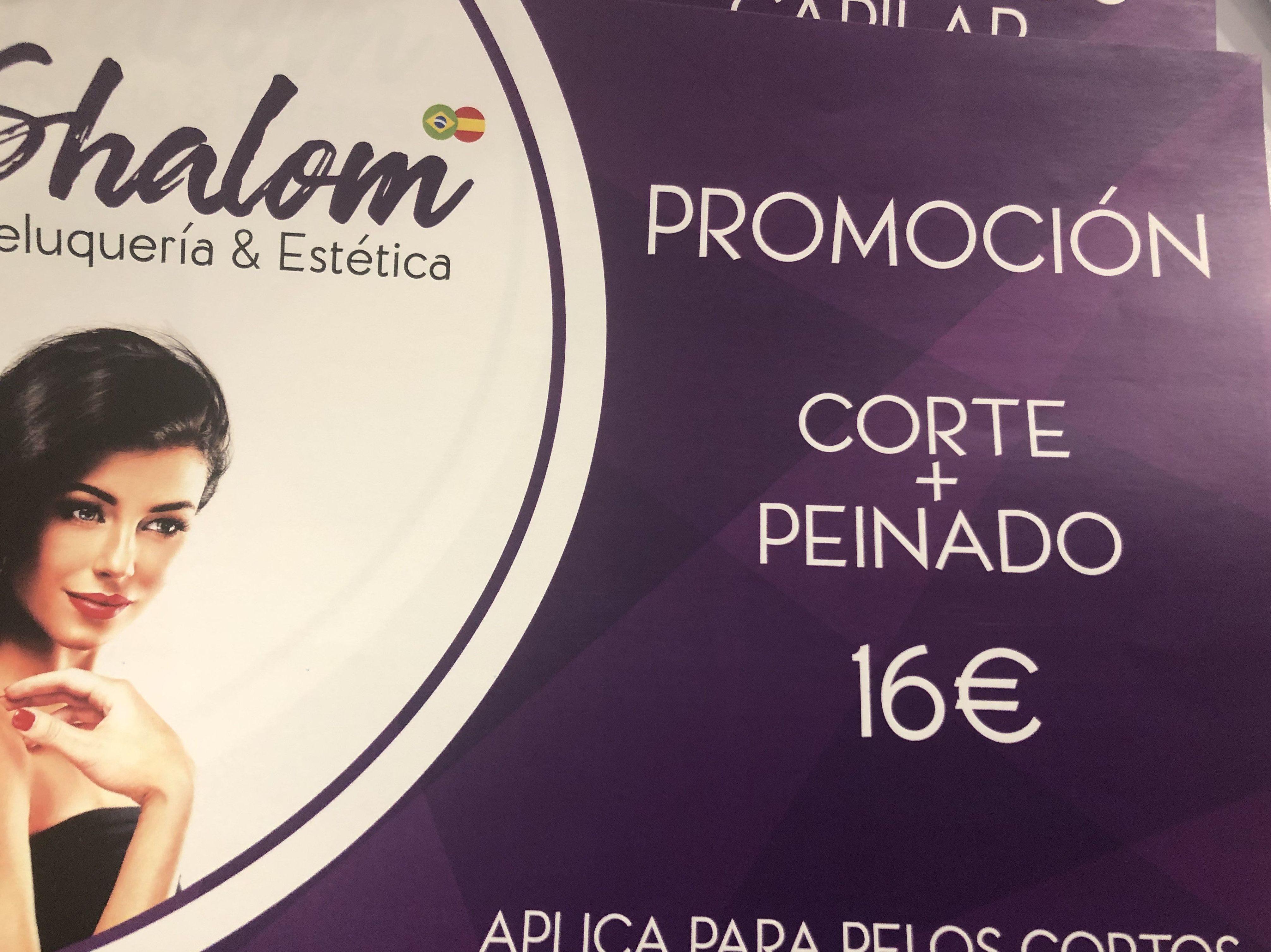 Corte y peinado en Logroño