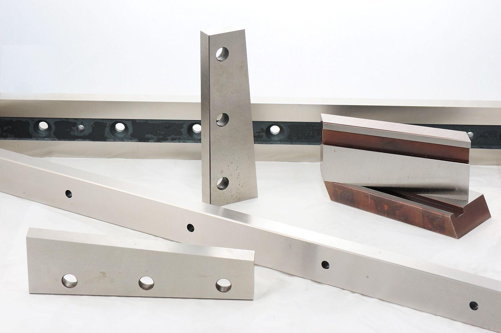 Afilado de cuchillas de diversos materiales