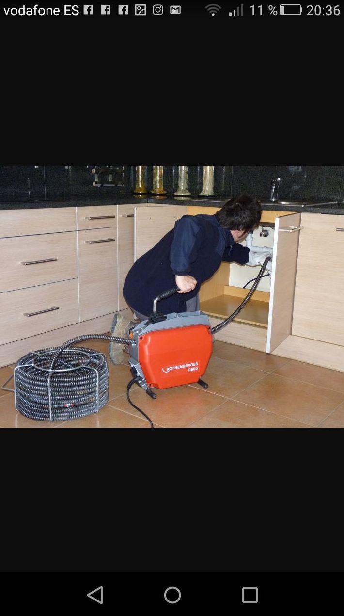 Desatascos de fregaderos sin roturas ni albañilería: Servicios de Limpiezas Miguel 24H