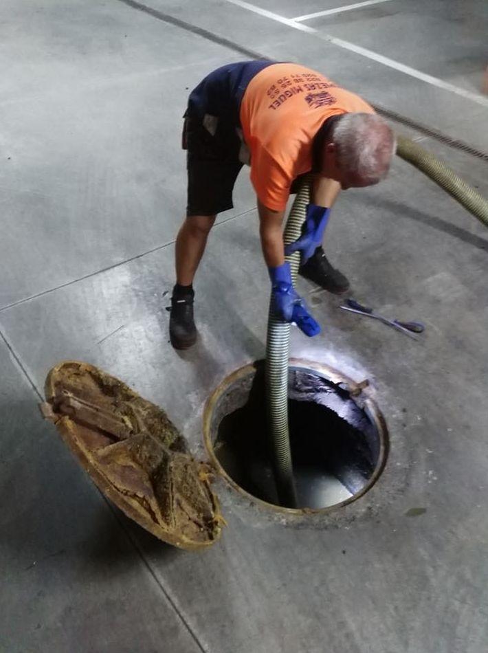 limpieza de arquetas