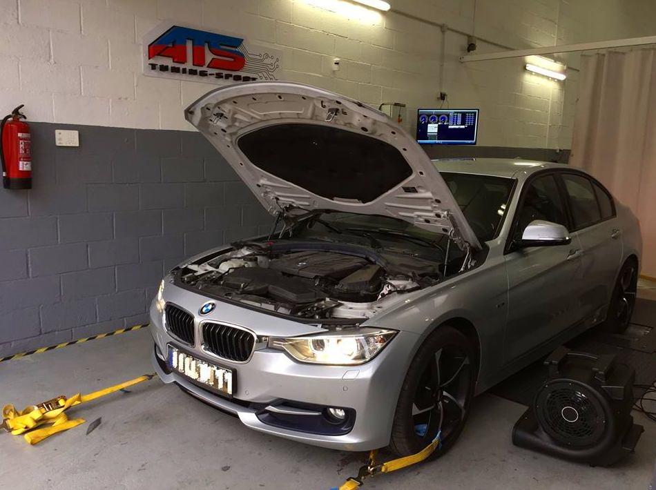 En ATS-TUNINGSPORT reprogramamos este precioso BMW F31 320d 184hp. Nuestro objetivo era ganar potencia y reducir el consumo. Como siempre verificamos nuestro trabajo en nuestro BANCO de PRUEBA. Stage:1 ORIGEN:184hp REPRO: 220hp