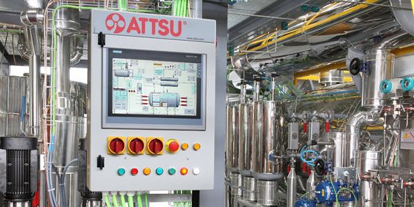 Controles, automatización y centralización de datos de proceso: Productos y servicios de ATTSU TEYVI
