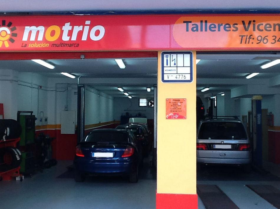 Taller de electrónica del automóvil en Valencia