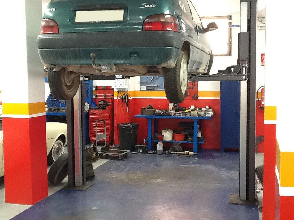 Taller de mantenimiento integral del automóvil