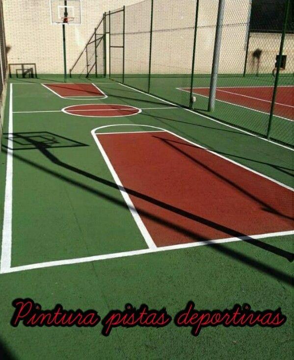 Pintura de pistas deportivas en Cáceres