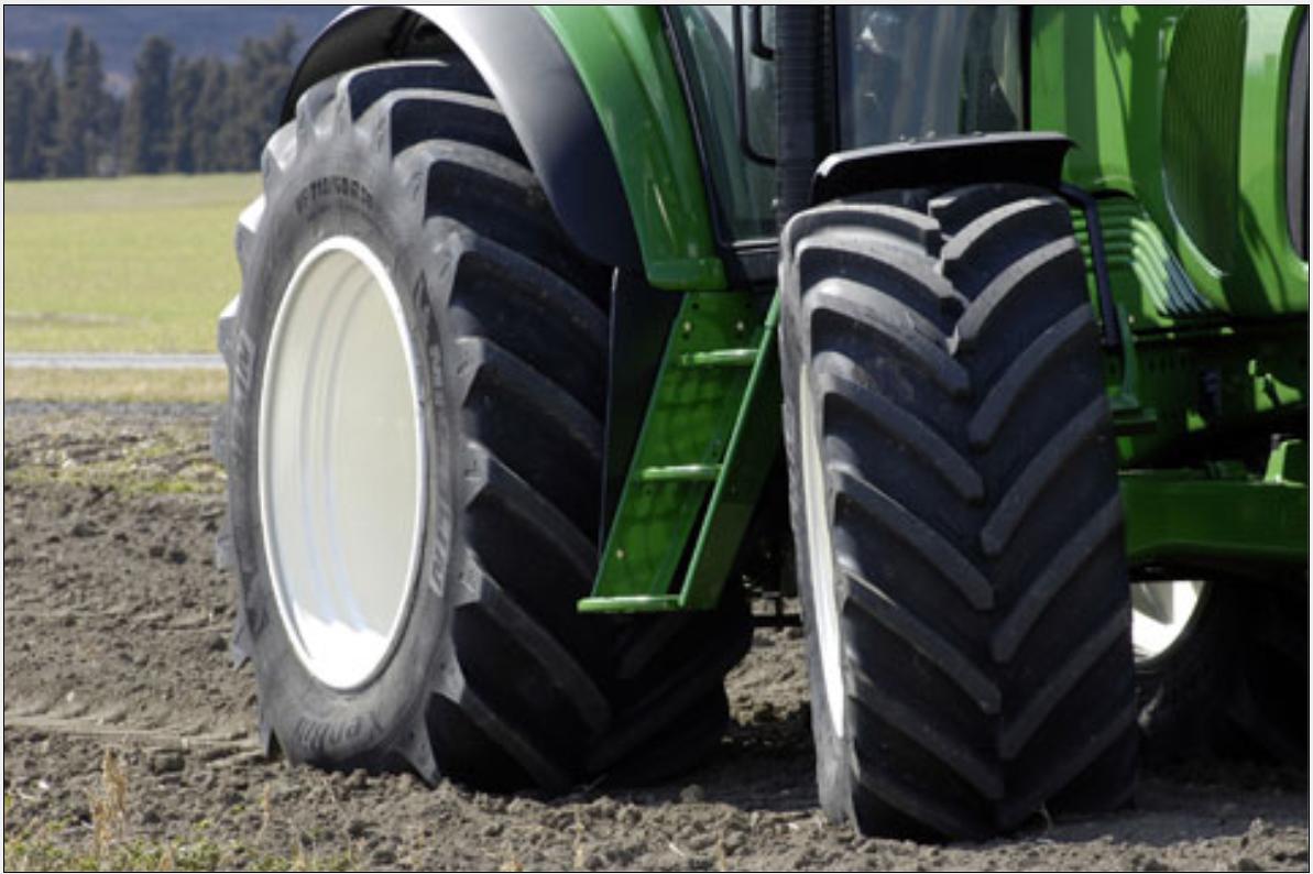 Neumáticos agrícolas en Huesca