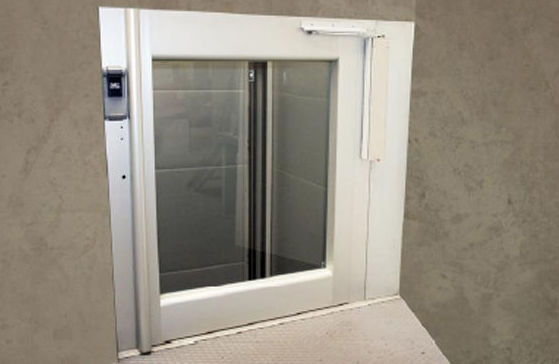 Media puerta atuomática