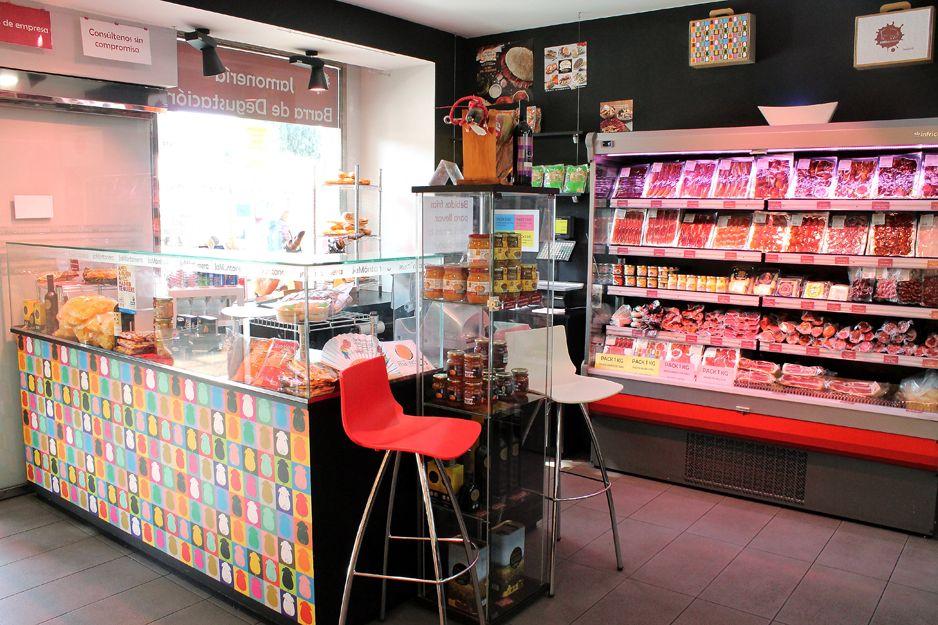 Tienda de productos delicatessen en Atocha, Madrid
