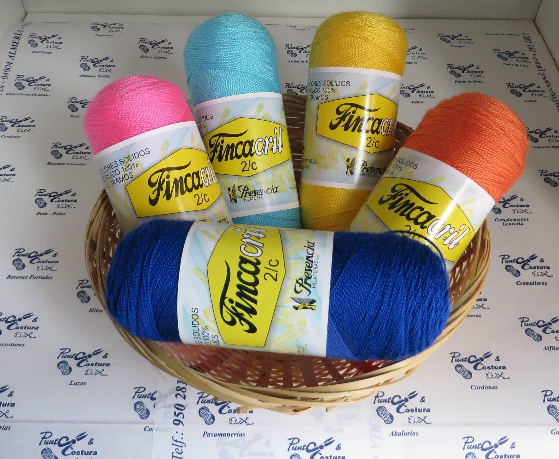 Hilos y lanas para tricotar