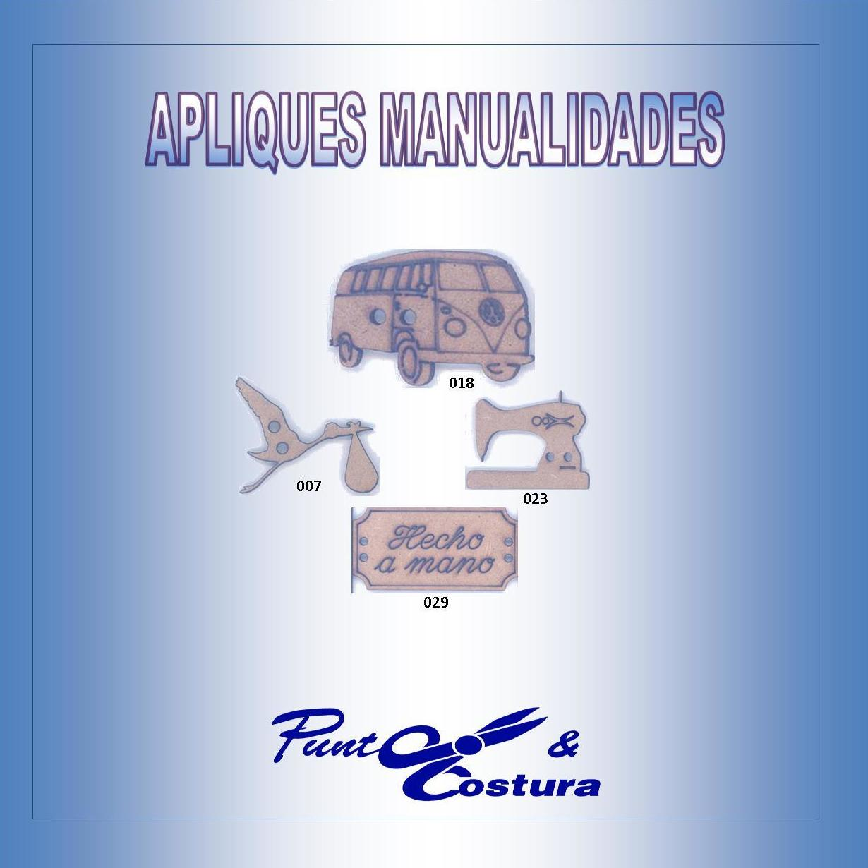 Apliques Manualidades: Catálogo de MANUEL RODRÍGUEZ MARTÍNEZ