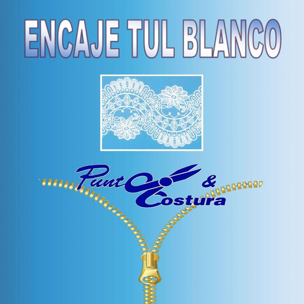 Encaje Tul Blanco