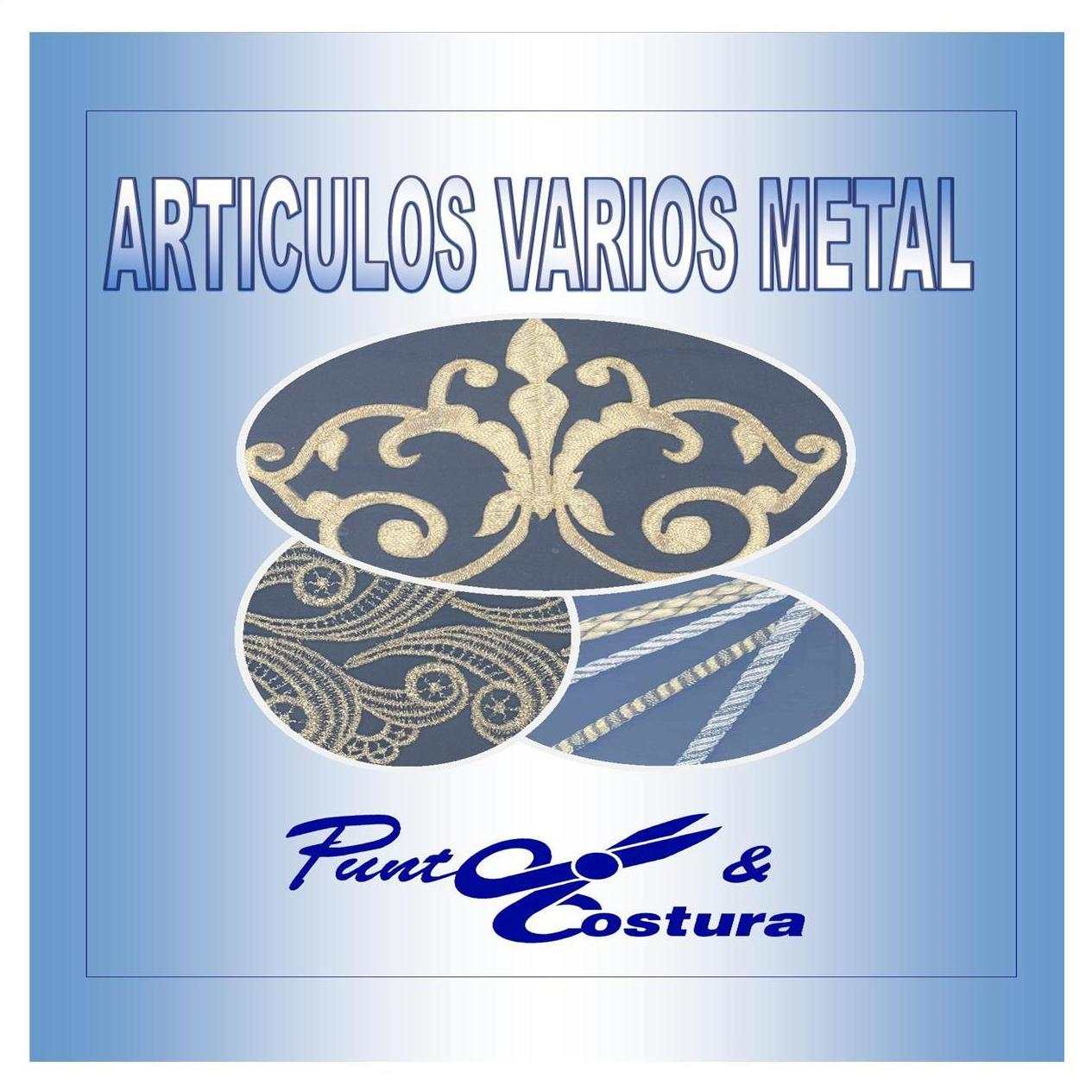Artículos Varios Metal: Catálogo de Punto & Costura