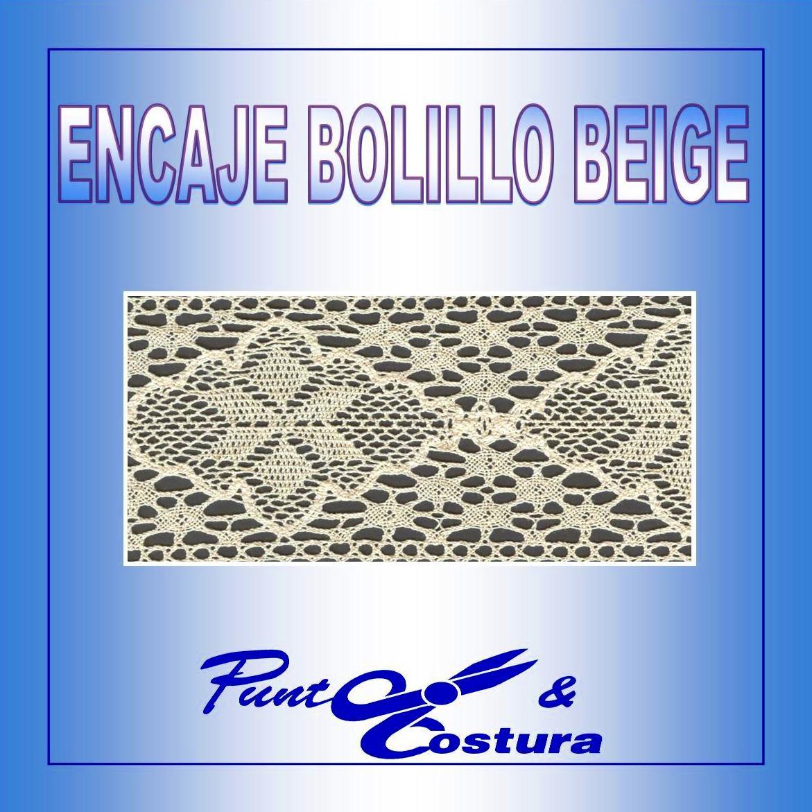 Encaje bolillo Beige: Catálogo de Punto & Costura