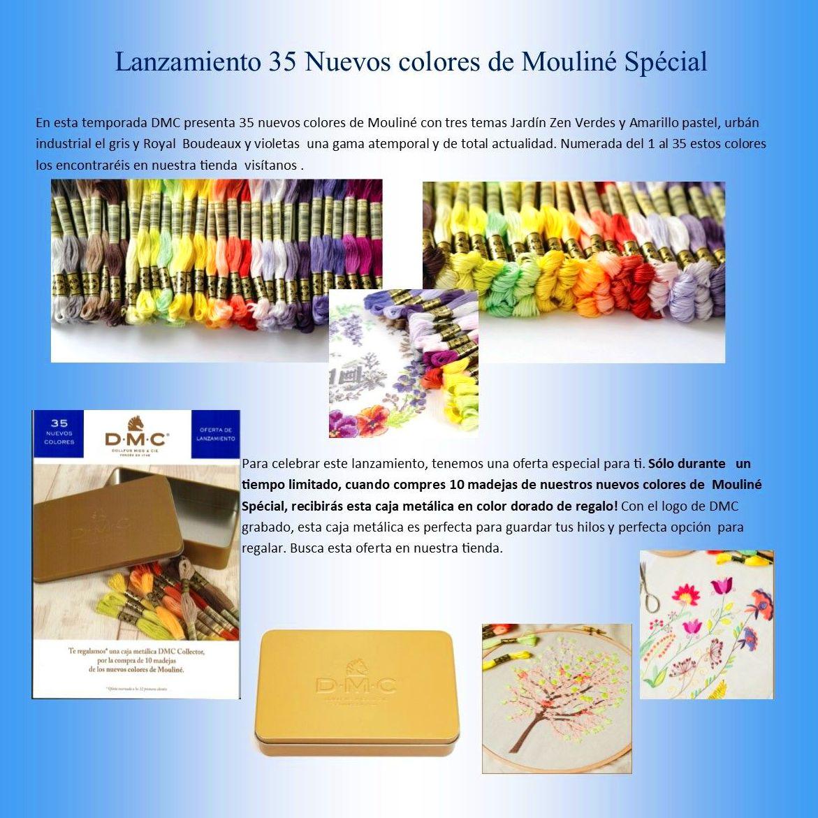 Lanzamiento 35 Nuevos colores de Mouliné Spécial