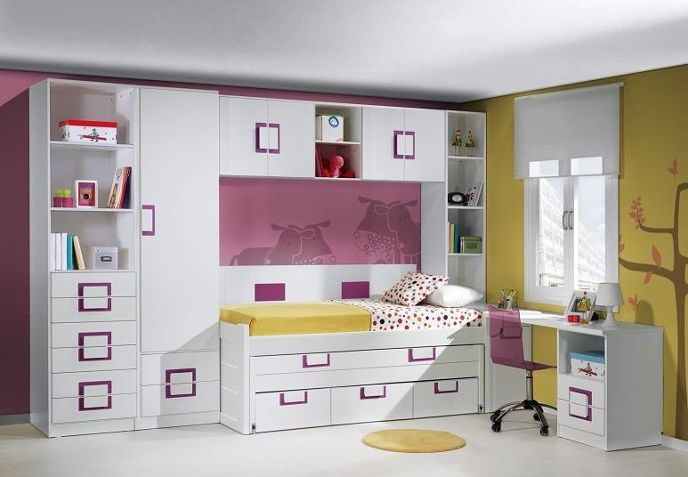Dormitorio juvenil para niña en Seseña