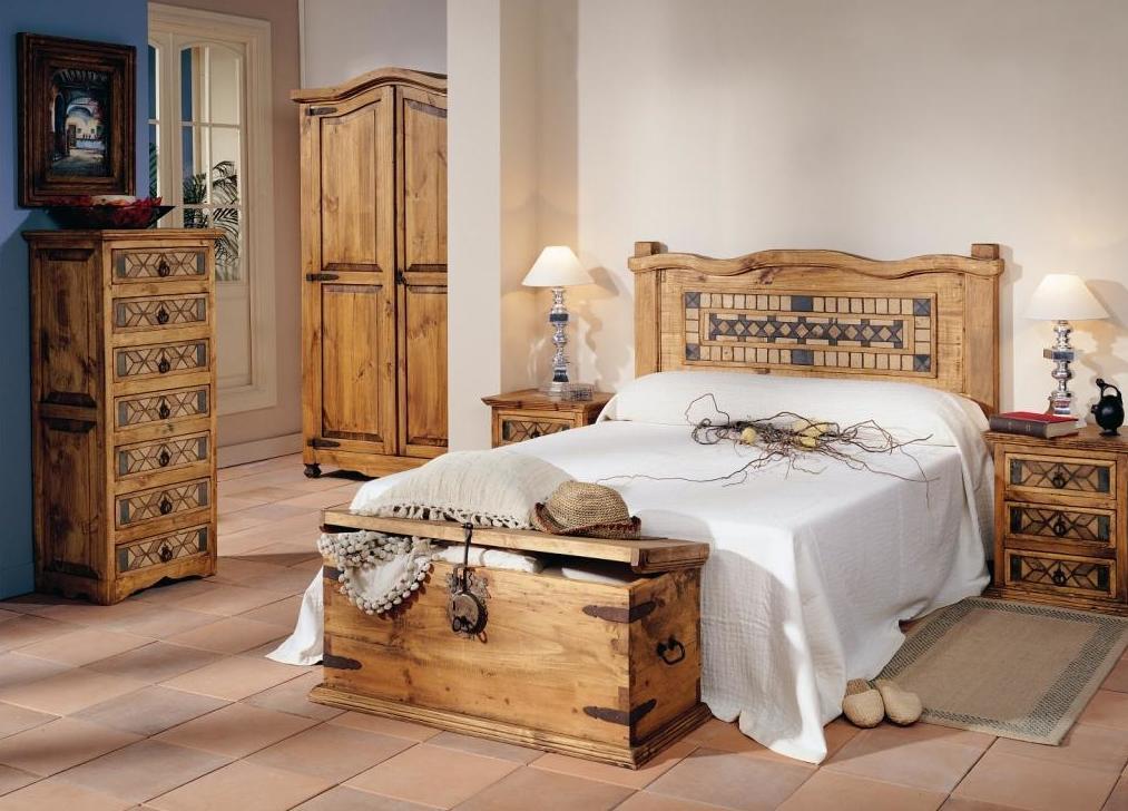 Muebles Seseña, dormitorios rústicos