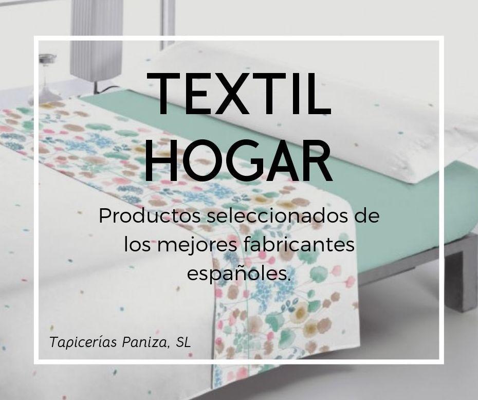 Venta Ropa del Hogar: PRODUCTOS & SERVICIOS de Paniza Tapicerías
